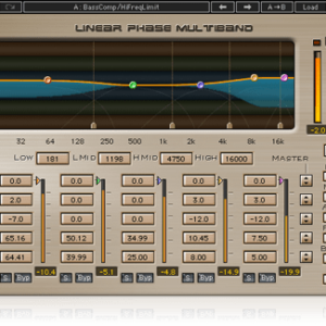 Linear Phase Multiband Comp