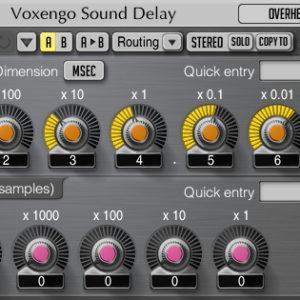 Sound Delay